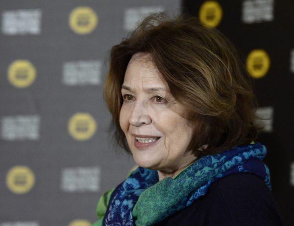 Herečka Emília Vášáryová vystoupila 19. března v Praze na tiskové konferenci, která se konala v rámci 23. ročníku mezinárodního filmového festivalu Febiofest.